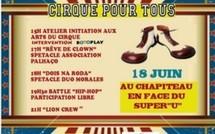 L'association Palhaçao organise le cirque pour tous