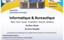 Equinoxe formation propose deux sessions de formation en informatique et bureautique