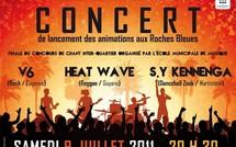 Podium vacances 2011 à la Roche bleue - Lancement