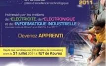 L'IUT de Kourou se dote à la rentrée 2011 d'une nouvelle filière