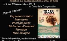 """Stage """"Journal en ligne pour les TransAmazoniènnes 2011"""""""