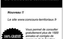www.concours-territoriaux.fr, un site dédié à la préparation aux concours