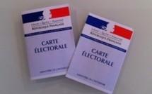 Remise des cartes électorales au service Etat-civil et Election