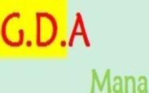 lettre d'information du GDA du mois de mai 2012.