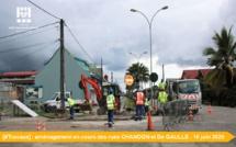 [#travaux] : aménagement en cours des rues Chandon et De Gaulle