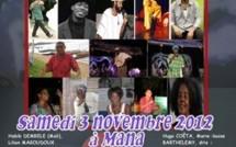 9ème édition de la Nuit du Conte Paul Henri GERARD, le samedi 03 novembre 2012 à Mana