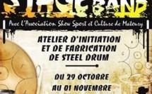"""Stage de """"STEEL BAND"""" du 29 octobre au 01 novembre 2012 organisé par le CCML de Saint-Laurent du Maroni."""