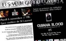 Projection vidéo de l'association Atelier Vidéo et Multimédia (AVM), ce mardi 06 novembre 2012.