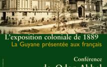 Conférence sur l'éxposition coloniale de 1889 par le docteur en histoire Odon Abbal