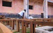 [#Fifac] Les équipes de la commune de #SaintLaurentduMaroni aménagent le Camp de la Transportation