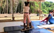 #Activitésvacances : Retour en images sur l'atelier cirque proposé aux enfants de #SaintLaurentduMaroni