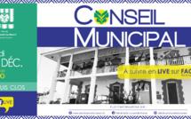 #Conseilmunicipal : Conseil municipal du 10 décembre 2020