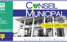 #Conseilmunicipal : Conseil municipal du 17 décembre 2020