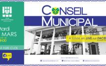 #Conseilmunicipal : Conseil  Municipal du 02 mars 2021