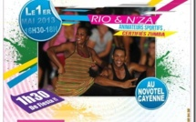 Zumba Fitness avec Rio et N'ZA le 1er mai