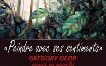 """Exposition """"Peindre avec ses sentiments"""" de Grégory Dézir"""
