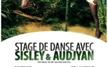 Stage de danse avec Sisley et Audjyan au CCML