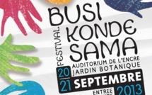 Festival Busi Konde Sama du 20 au 21 septembre