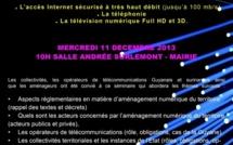 Présentation du projet FTTH sur la ville de Saint-Laurent-du-Maroni