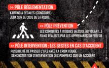 Journée de prévention routière avec le PREFOB
